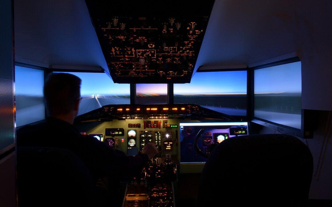 Simulateur de vol : Le marché des simulateurs de vol est en plein essor